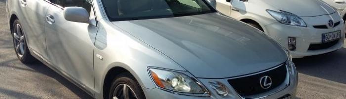Lexus GS 300 na avtoplin