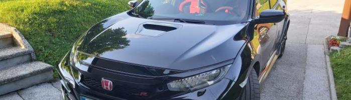 Honda Civic Type R na avtoplin