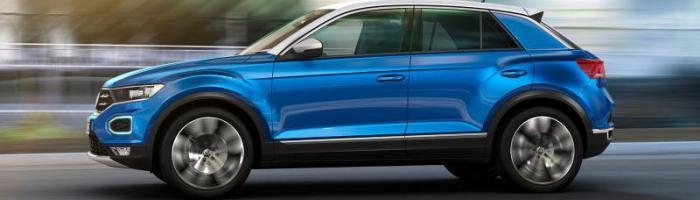 Volkswagen T-Roc na avtoplin