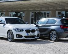 BMW 118 in BMW 320 na avtoplin