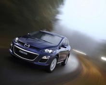 Mazda CX7 na avtoplin