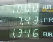 strošek vožnje na bencin