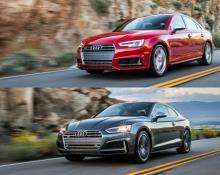 Audi S4 in Audi S5 na avtoplin