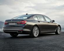 BMW 740 na avtoplin