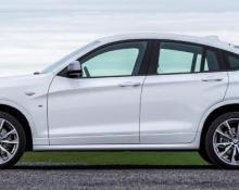 BMW X4 na avtoplin