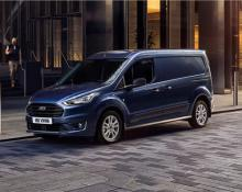 Ford Transit Connect in Ford Transit Courier na avtoplin