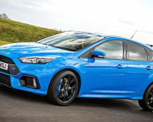 Ford Focus RS 2.5T na avtoplin