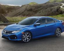 Honda Civic 1.5T na avtoplin
