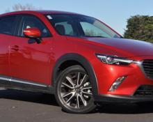 Mazda CX3 skyactive na avtoplin