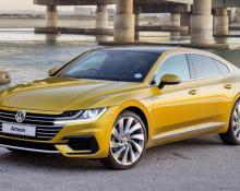 Volkswagen Arteon na avtoplin