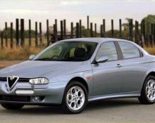 Alfa Romeo 156 na avtoplin